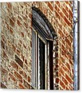 Window Pole 13153 Acrylic Print