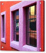 Window Reflections 2 Acrylic Print