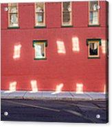 Window Reflections Acrylic Print