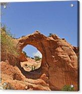 Window Rock Arizona Acrylic Print