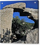 Window Rock Acrylic Print