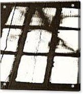 Window Shadow Acrylic Print