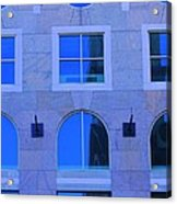 Window Shapes Acrylic Print