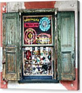 Window Shop Acrylic Print by Kenneth Feliciano