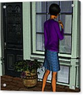 Window Shopper Acrylic Print