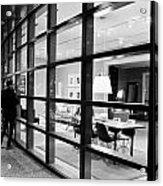 Window Shopping In The Dark Acrylic Print