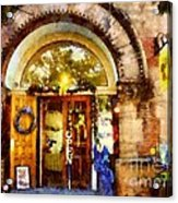 Window Shopping  Acrylic Print by Janine Riley