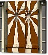 Window Shutter 3 Acrylic Print