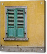 Window Shutter Acrylic Print