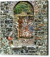 Window To A Bygone Heritage Acrylic Print