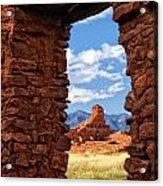Window To Abo Acrylic Print
