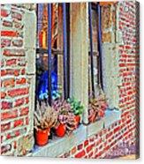 Window To Antwerp Acrylic Print