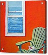 Window To The Sea No. 1 - Seashell Acrylic Print