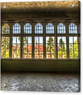 Window With Beauty Acrylic Print