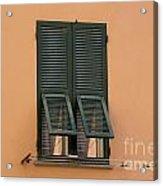 Window With Shutter Acrylic Print