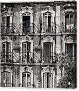 Windows And Balconies 1 Acrylic Print