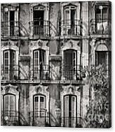 Windows And Balconies 2 Acrylic Print