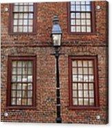 Windows And Brick Acrylic Print