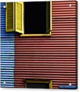 Windows And Doors Buenos Aires 16 Acrylic Print