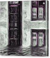 Windows And Doors Acrylic Print