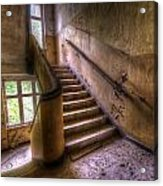 Windows And Stairs Acrylic Print