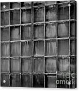 Windows Black And White 2 Acrylic Print