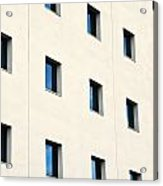 Windows In An Office Building Acrylic Print