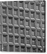 Windows In Black And White Acrylic Print