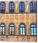 Windows In Florence Acrylic Print