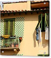 Windows, Italy Acrylic Print