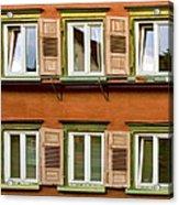 Windows Acrylic Print