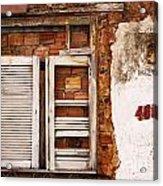 Windows Of Alcantara Brazil 1 Acrylic Print