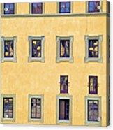 Windows Of Florence Acrylic Print