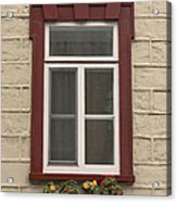 Windows Of Quebec 1 Acrylic Print