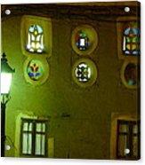 Windows Of Sanaa Acrylic Print