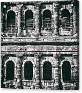 Windows Of The Porta Nigra Acrylic Print