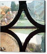 Windows Of Venice View From Art Academy Acrylic Print
