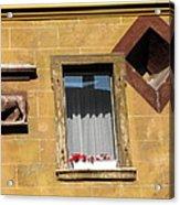 Windows To Budapest Acrylic Print
