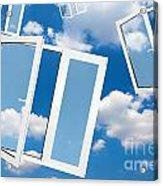 Windows To New World Acrylic Print