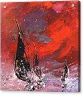 Windsurf Impression 02 Acrylic Print
