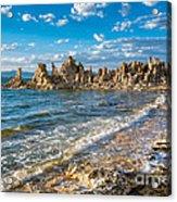 Windy Afternoon At Mono Lake Acrylic Print