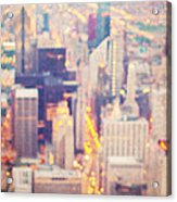 Windy City Lights - Chicago Acrylic Print