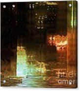 Windy City Night Acrylic Print