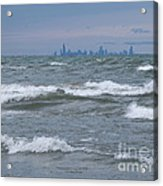 Windy City Skyline Acrylic Print