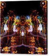 Windy Night Mirror Image Acrylic Print
