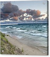 Windy Sunrise Acrylic Print