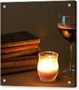 Wine And Wonder A Acrylic Print
