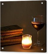 Wine And Wonder B Acrylic Print