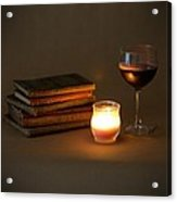 Wine And Wonder C - Square Acrylic Print