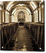 Wine Barrel Boulevard Acrylic Print